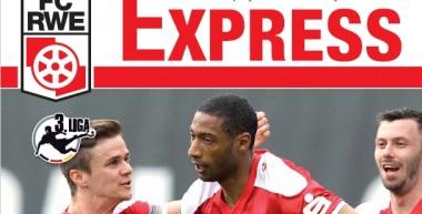 RWE-Express 19. Ausgabe 2016/17 - Spiel gegen die SG Sonnenhof Großaspach