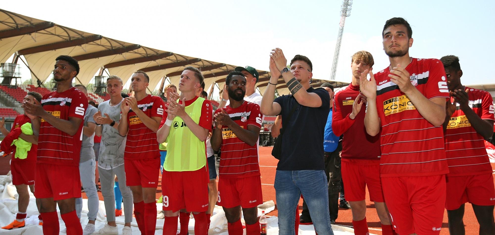 Rot-Weiß verabschiedet sich mit 1:3 gegen Würzburg aus der Liga