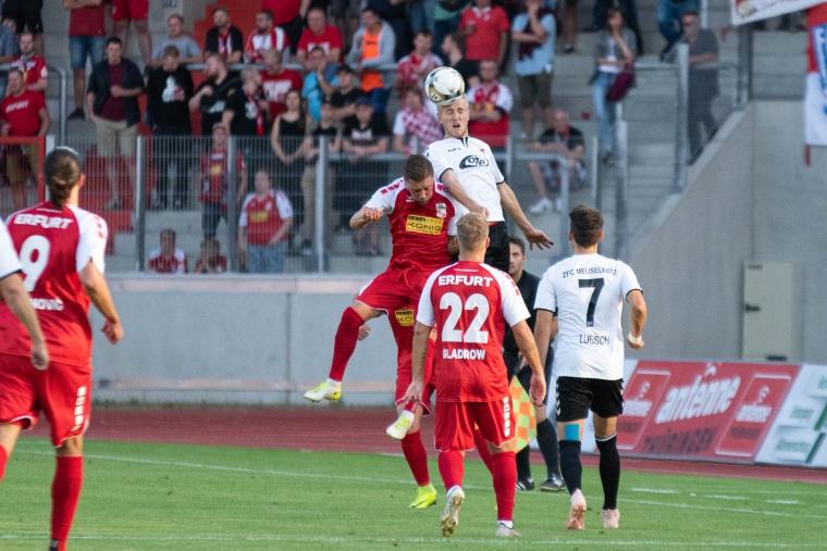 5. Spieltag 2019/20 Rot-Weiß Erfurt - ZFC Meuselwitz