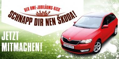 RWE Jubiläums-Kick