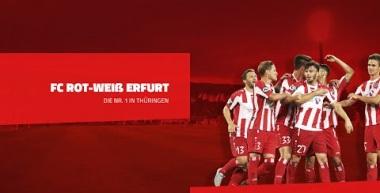 15. Spieltag FC Rot-Weiß Erfurt - Stuttgarter Kickers