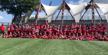 Rückblick der RWE-Fußballschule in den Sommerferien