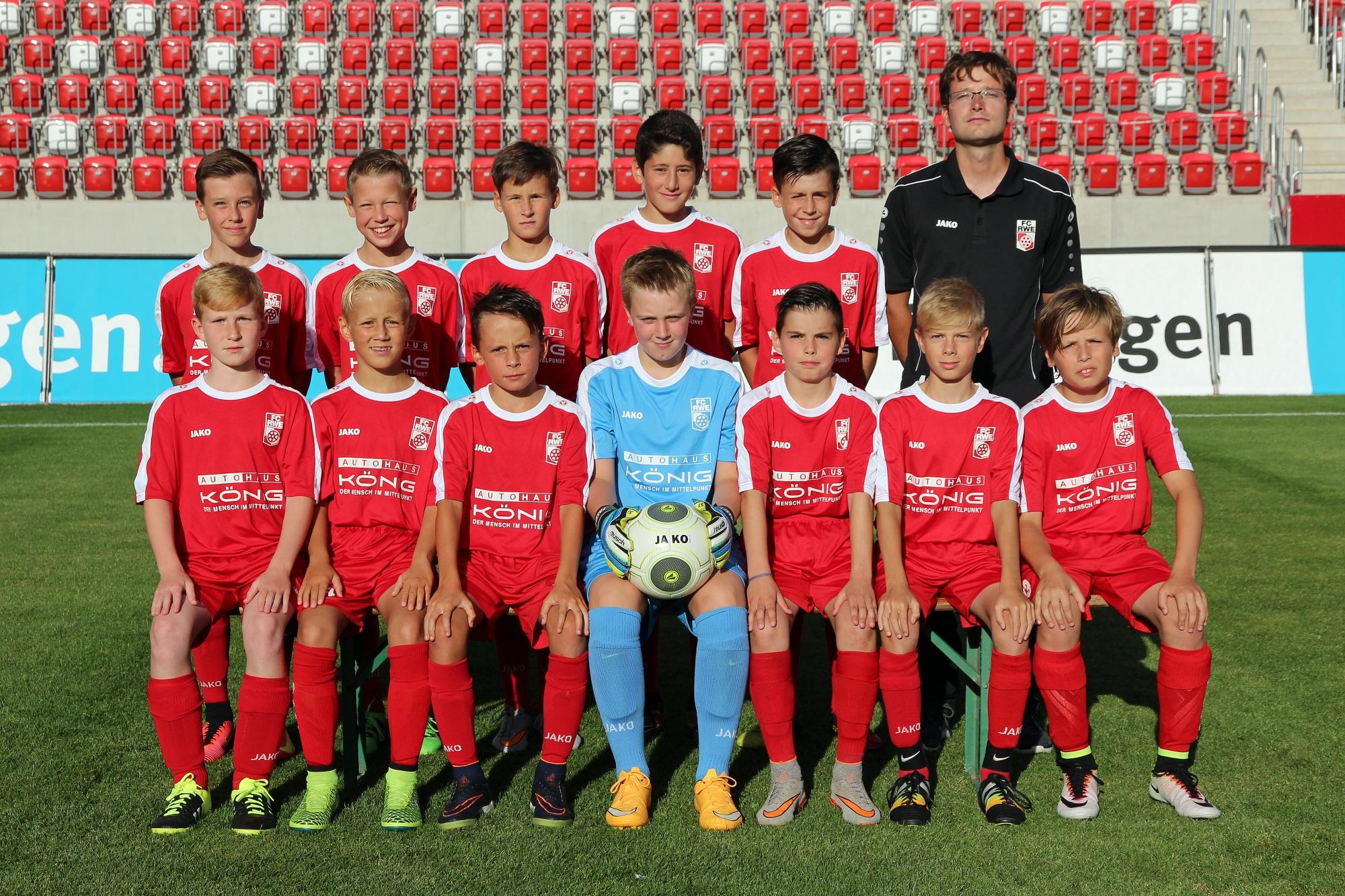 Mannschaftsfoto U12