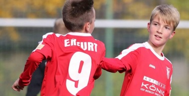 U19 mit Remis, U17 verliert in Berlin