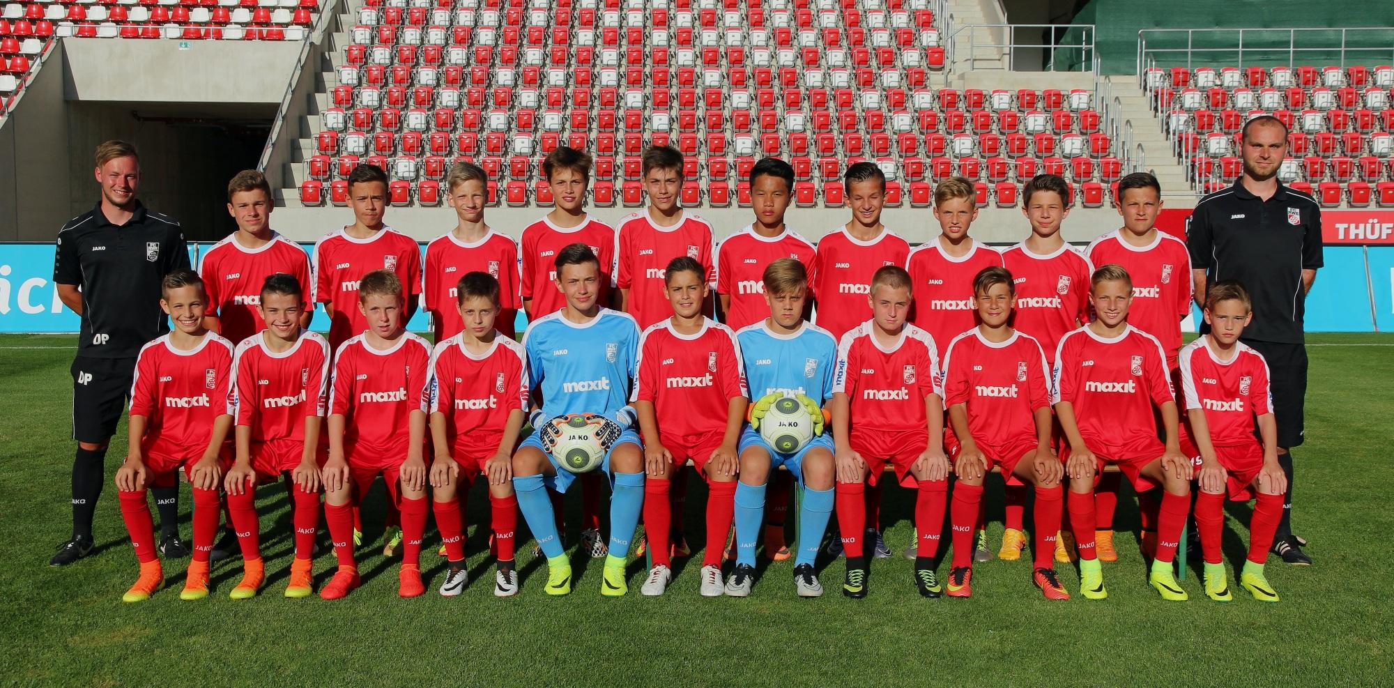 Mannschaftsfoto U14