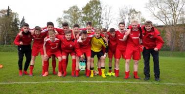 U15 gewinnt in Rostock