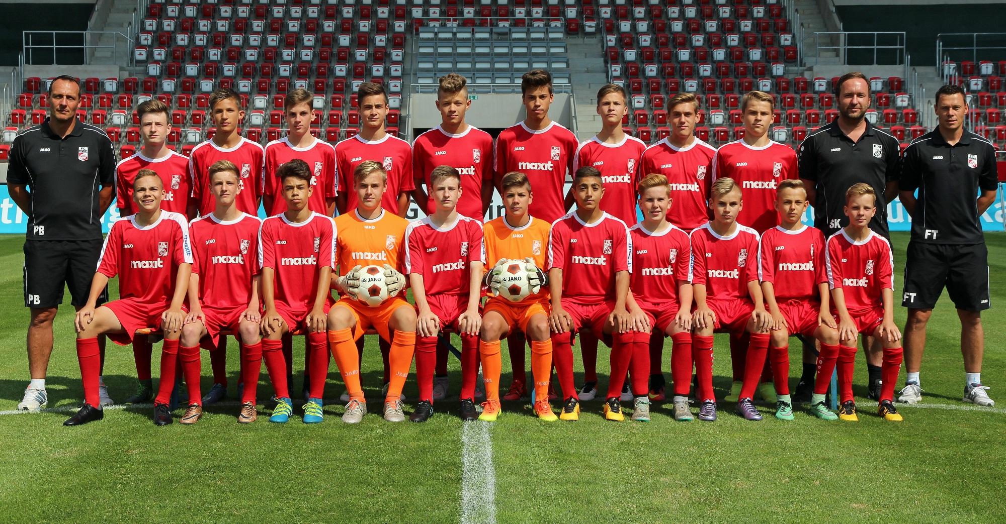 Mannschaftsfoto U15