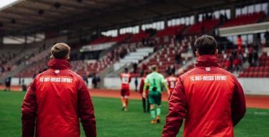 Rot-Weiß Erfurt und Neugersdorf trennen sich 0:0 Unentschieden