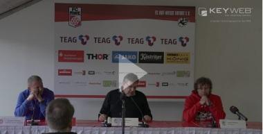 Pressekonferenz 2016/17: FC Rot-Weiß Erfurt - SV Wehen Wiesbaden (nach dem Spiel)