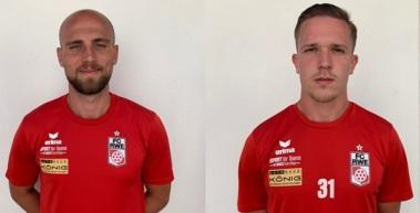 Felix Schwerdt und Hans Oeftger verlassen den FC Rot-Weiß Erfurt