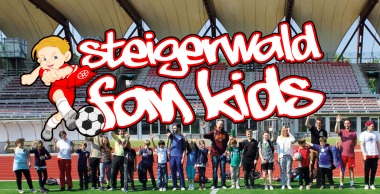 """Steigerwald Fan Kids sind """"Eins gegen Mainz"""""""