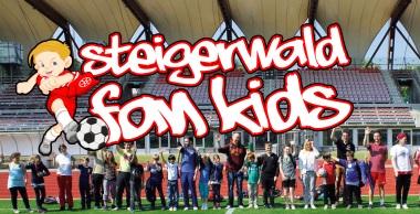 Steigerwald Fan Kids - wollen den Pokal, das ist normal